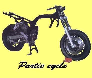 Partie cycle, Cadres, fourches, roues, etc..